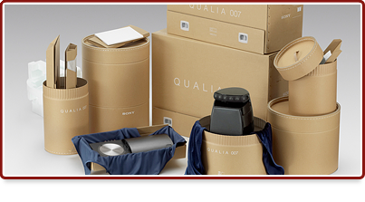 Sony Qualia Packaging