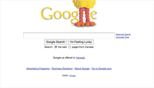 Google Celebrates the Anniversary of Sesame Street