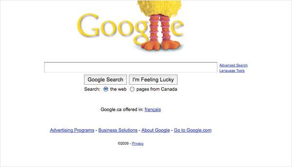Google Celebrates the Anniversary of Sesame Street